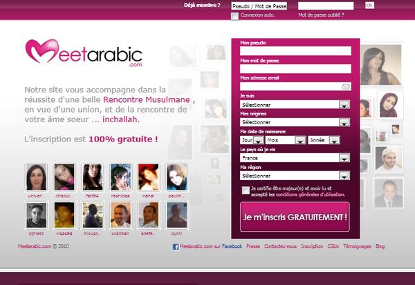 site de rencontre musulman 100 gratuit